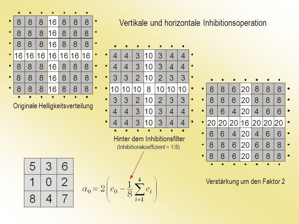 Vertikale und horizontale Inhibitionsoperation