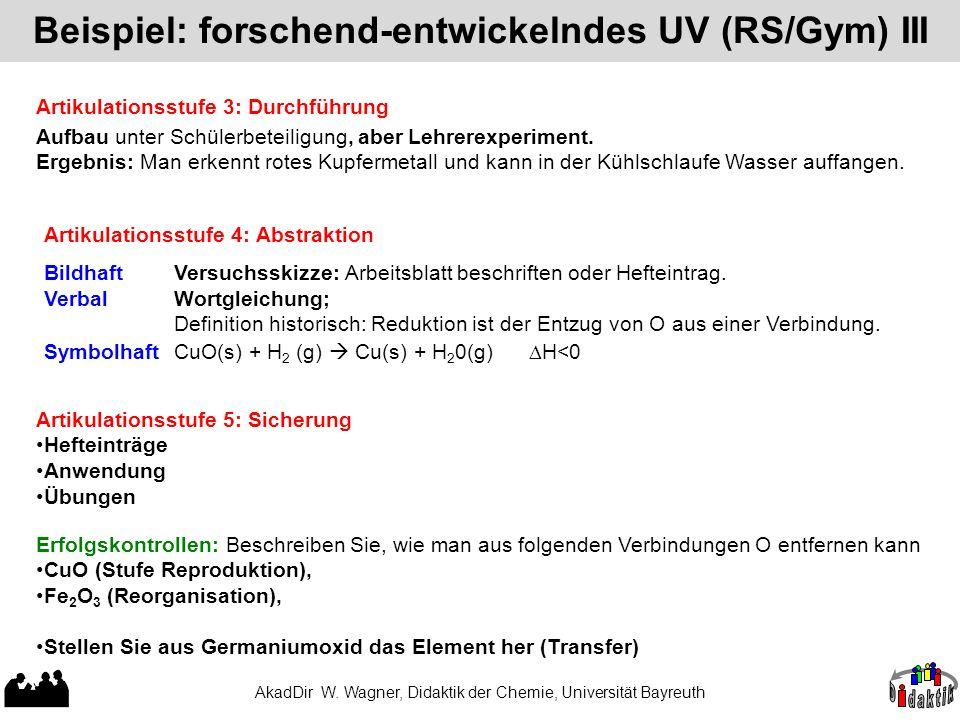 Beispiel: forschend-entwickelndes UV (RS/Gym) I - ppt herunterladen