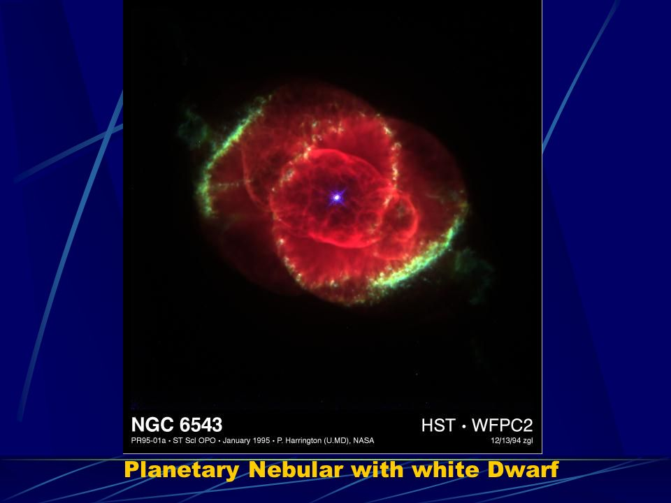 Planetary Nebular with white Dwarf