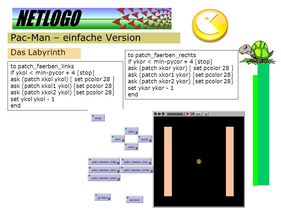 Pac-Man – einfache Version