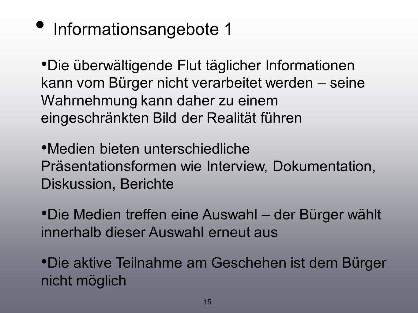 Informationsangebote 1