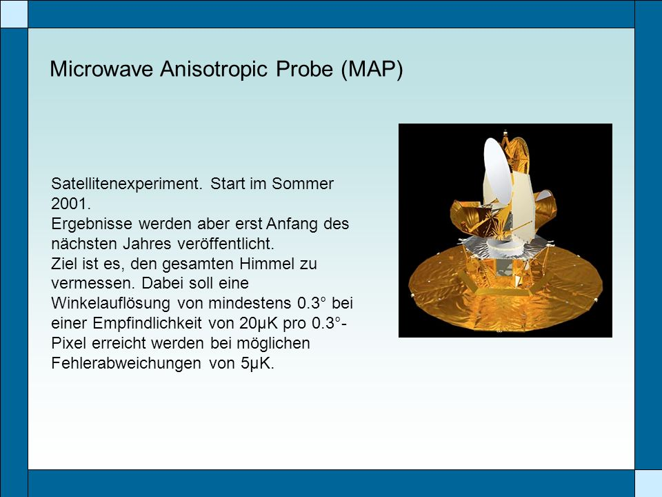 Microwave Anisotropic Probe (MAP)