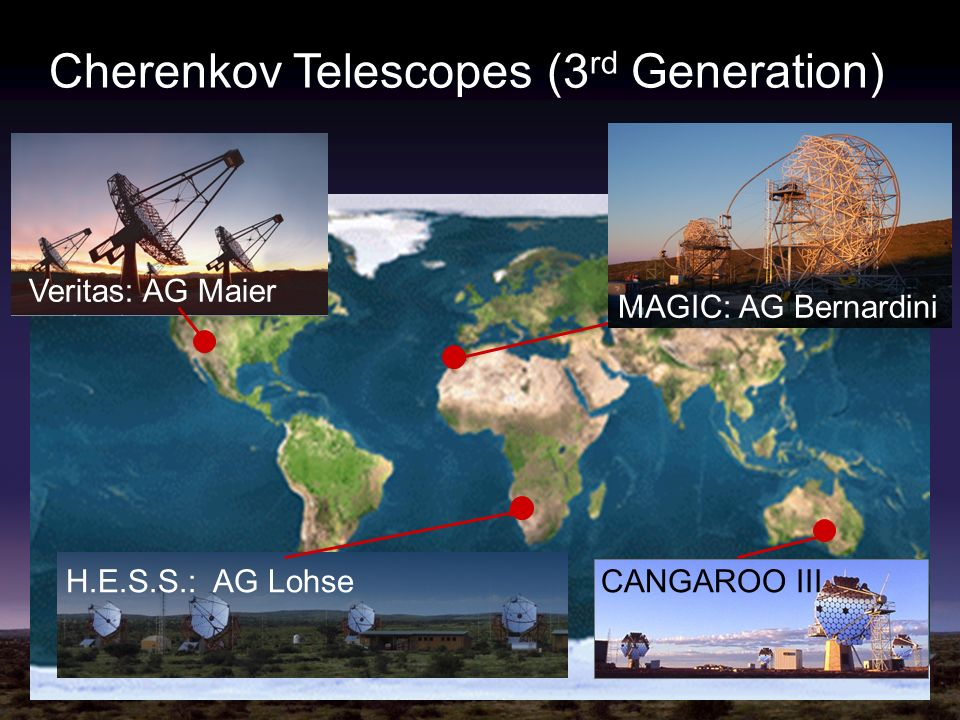 Cherenkov Telescopes (3rd Generation)
