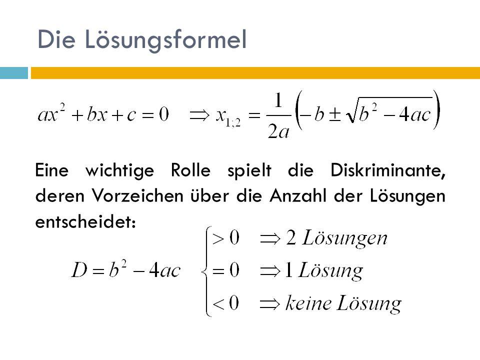Quadratische Gleichung - ppt herunterladen