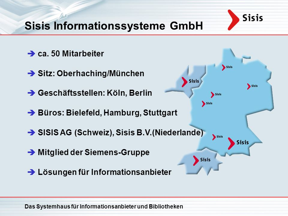 Sisis Informationssysteme GmbH