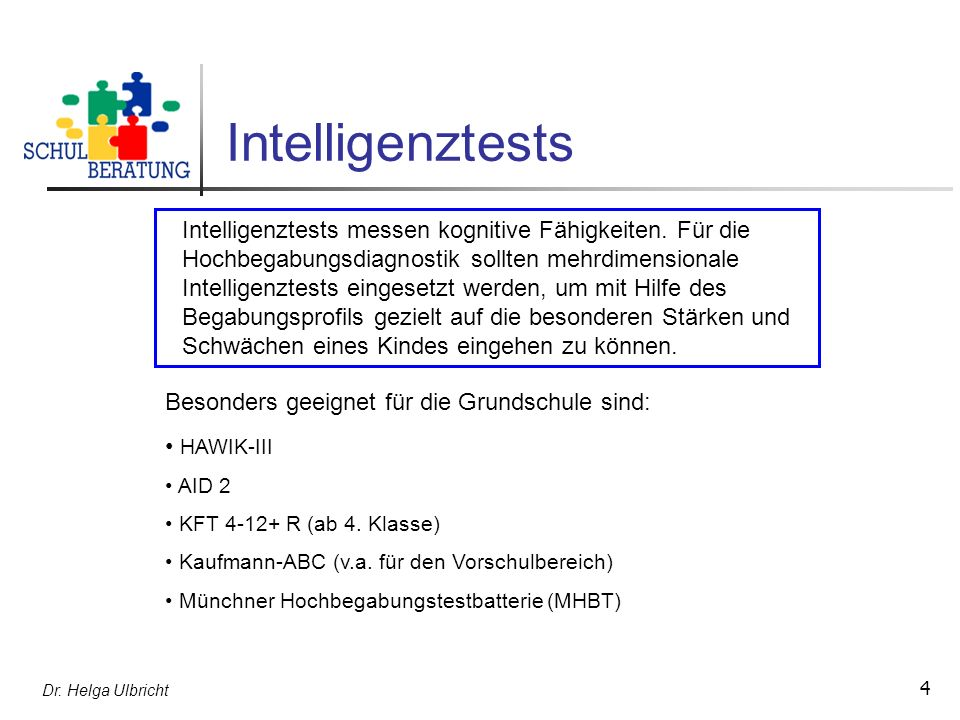 Intelligenztests