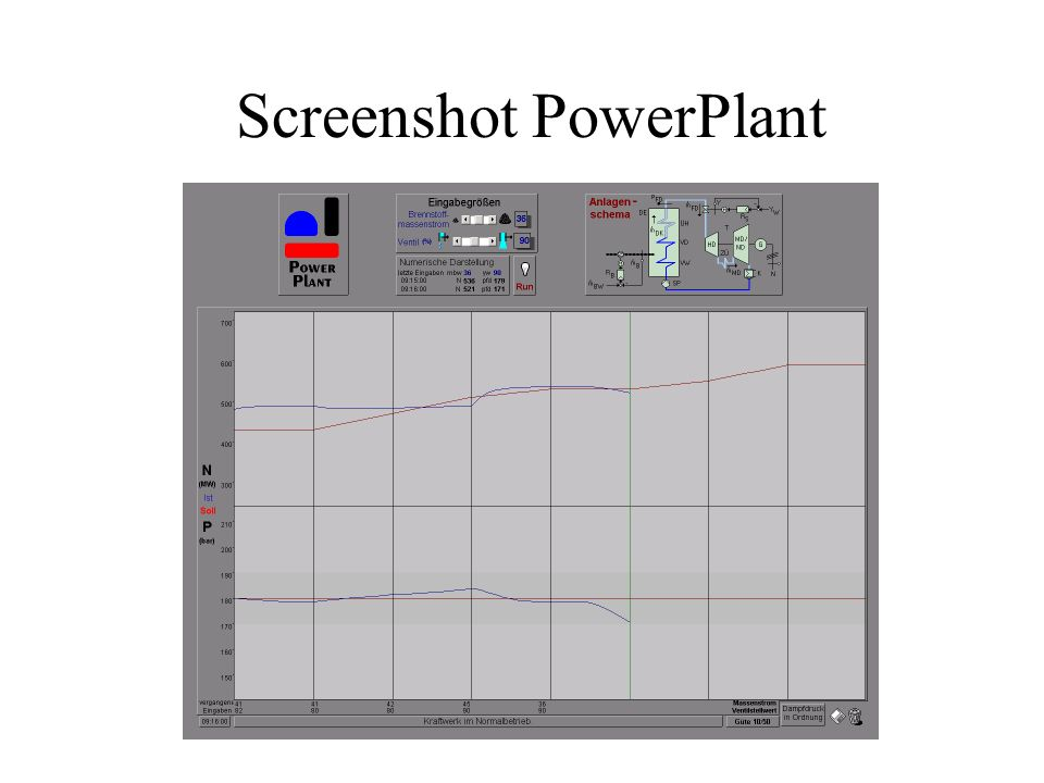 Screenshot PowerPlant