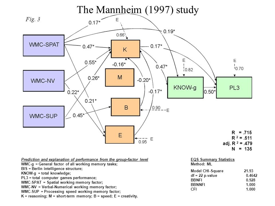 The Mannheim (1997) study Fig. 3