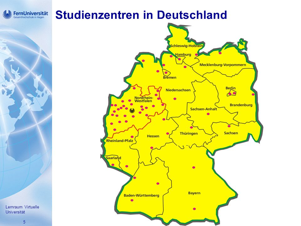 Studienzentren in Deutschland