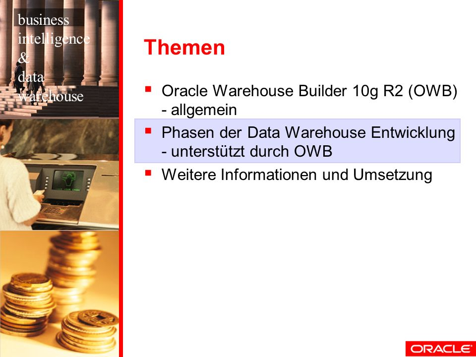 Themen business intelligence & data warehouse