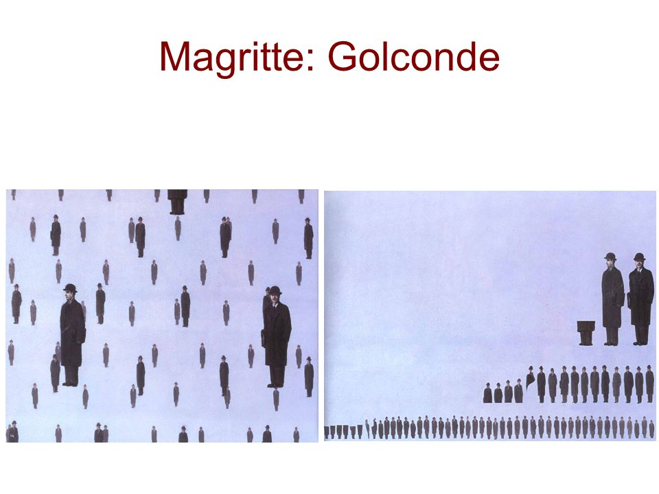 Magritte: Golconde