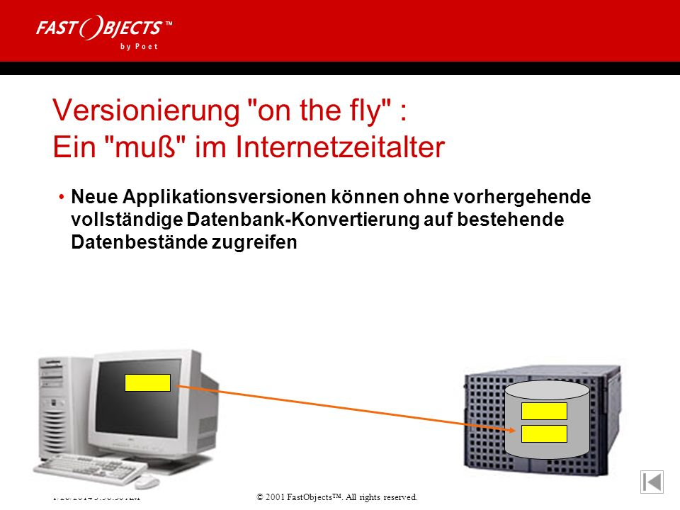 Versionierung on the fly : Ein muß im Internetzeitalter