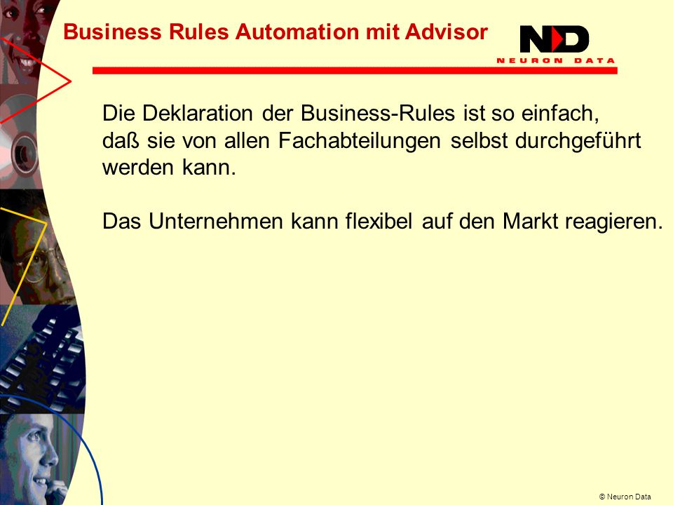 Business Rules Automation mit Advisor