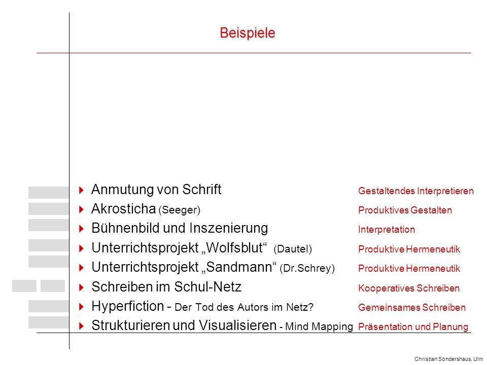 Neue Medien Im Deutschunterricht Der Oberstufe Ppt Video Online