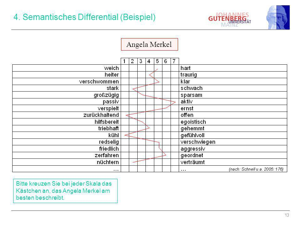 4. Semantisches Differential (Beispiel)