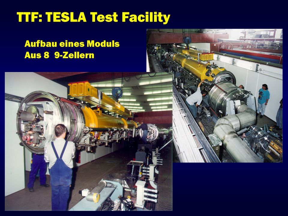TTF: TESLA Test Facility