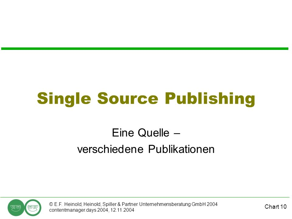 Single Source Publishing