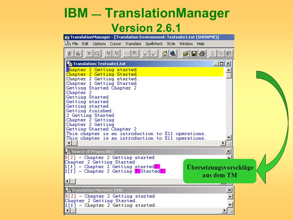 IBM — TranslationManager Version 2.6.1