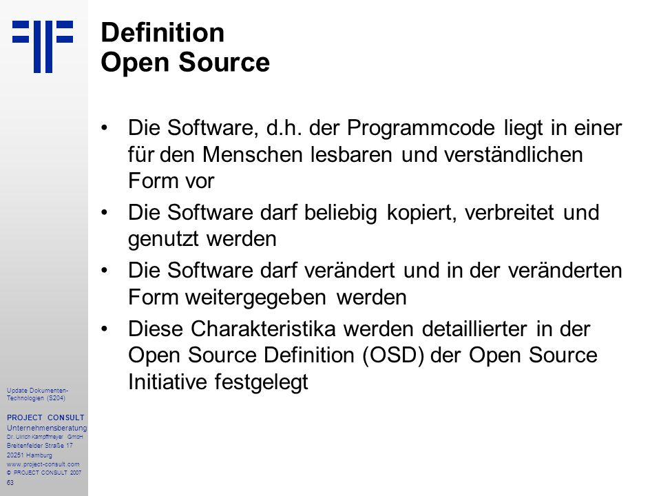 Definition Open Source