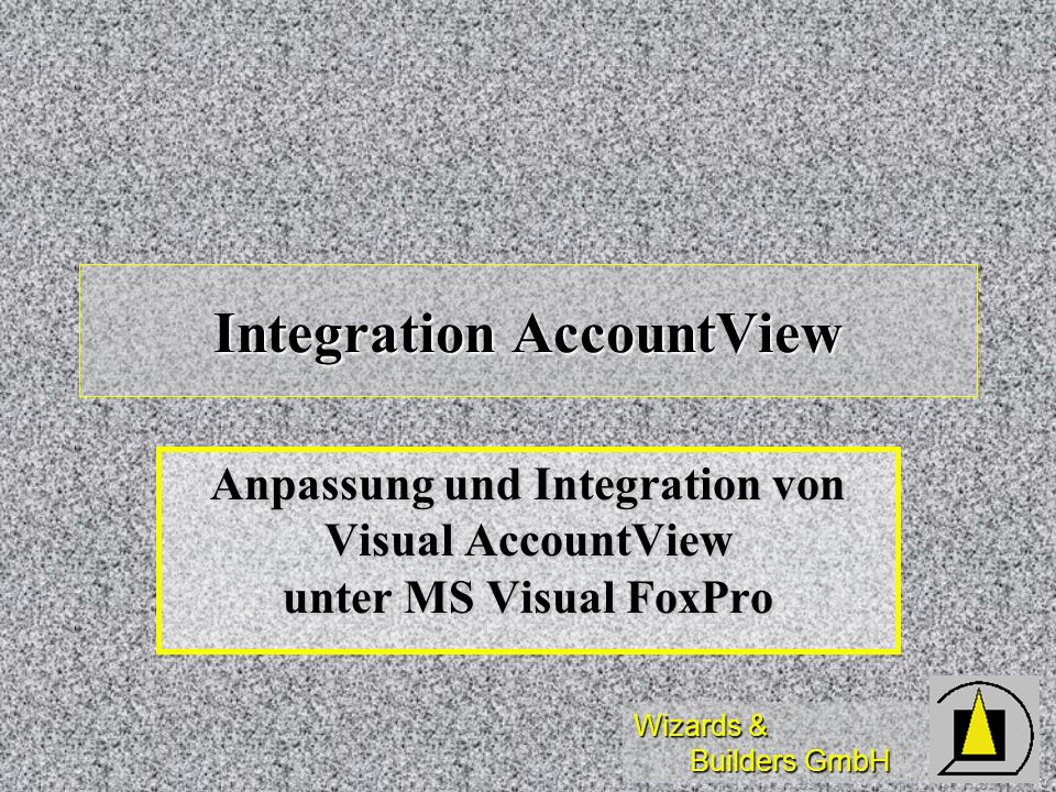 Integration AccountView