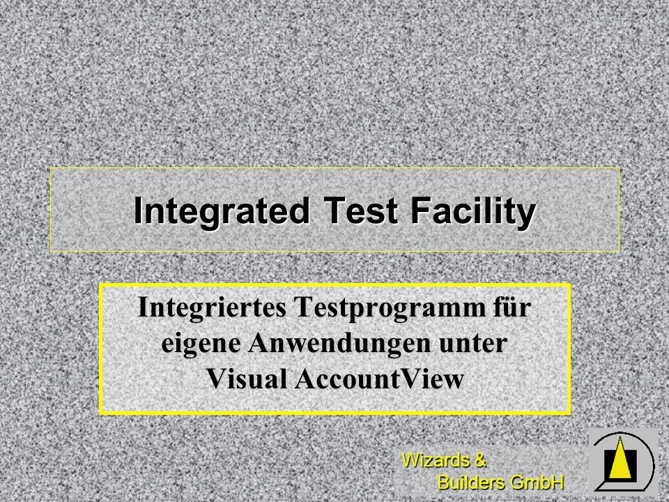 Integrated Test Facility