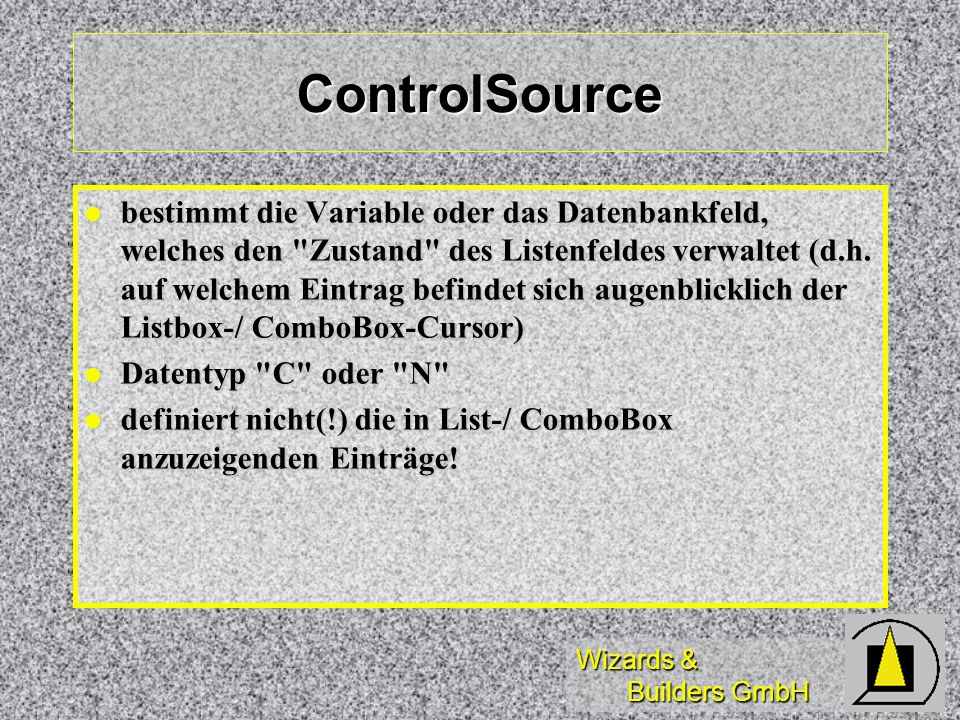 ControlSource