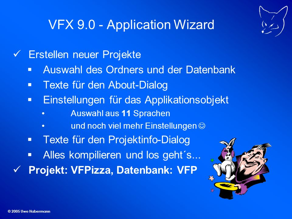 VFX Application Wizard