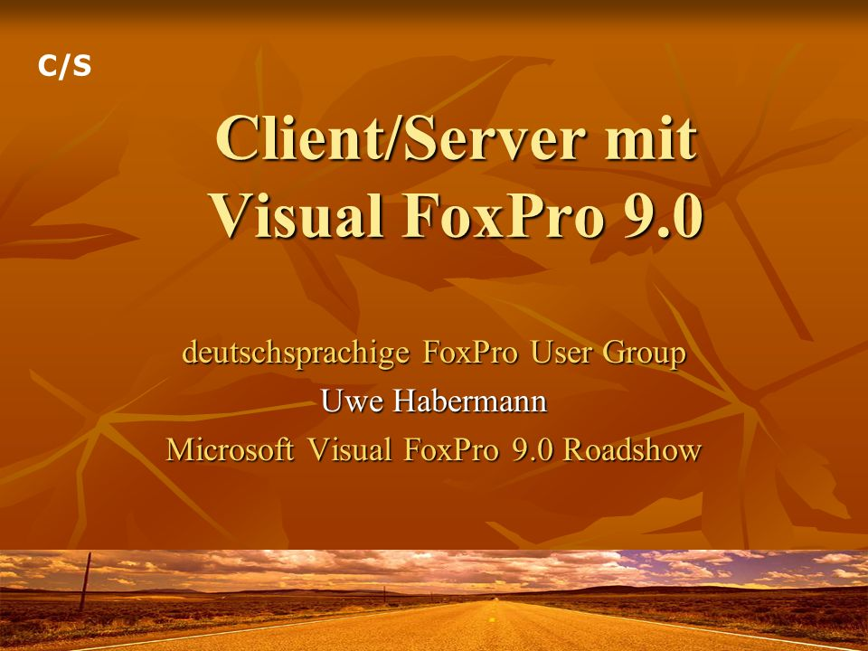 Client/Server mit Visual FoxPro 9.0