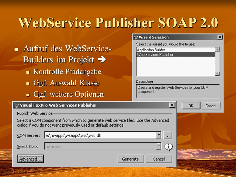 WebService Publisher SOAP 2.0
