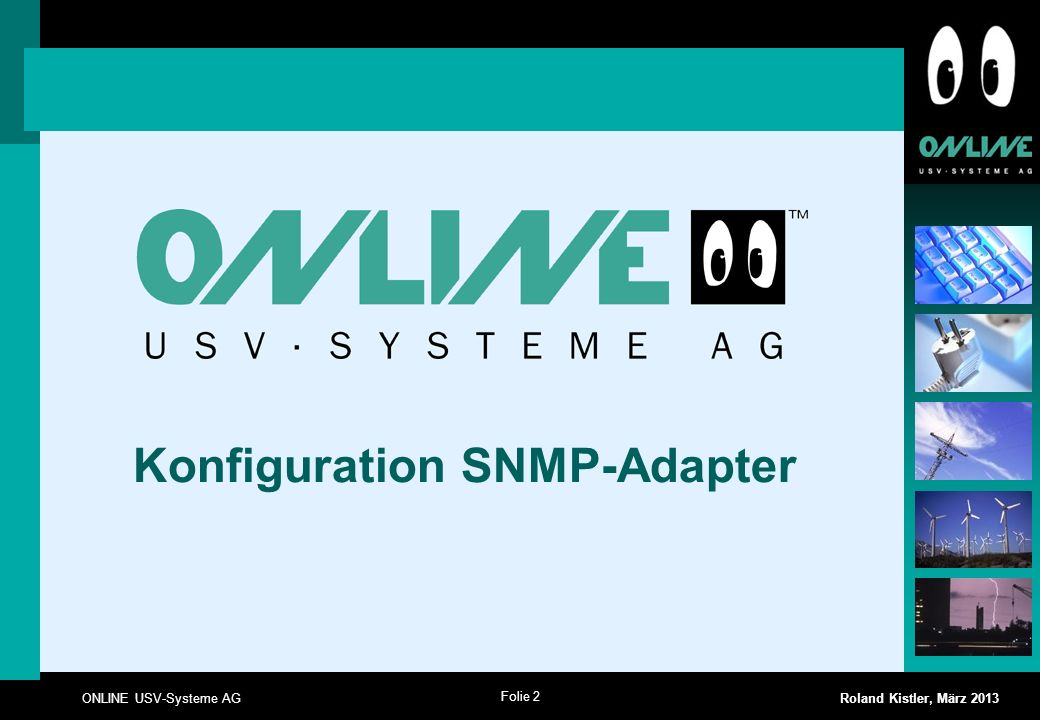 Konfiguration SNMP-Adapter