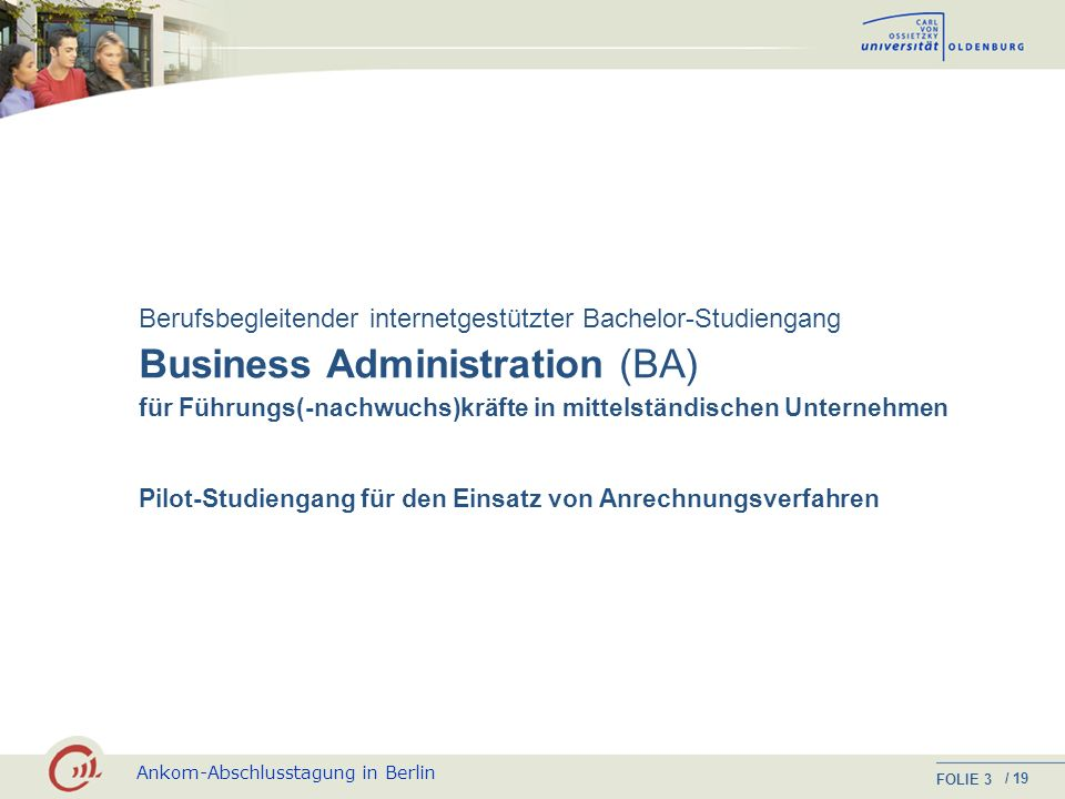 Business Administration (BA)