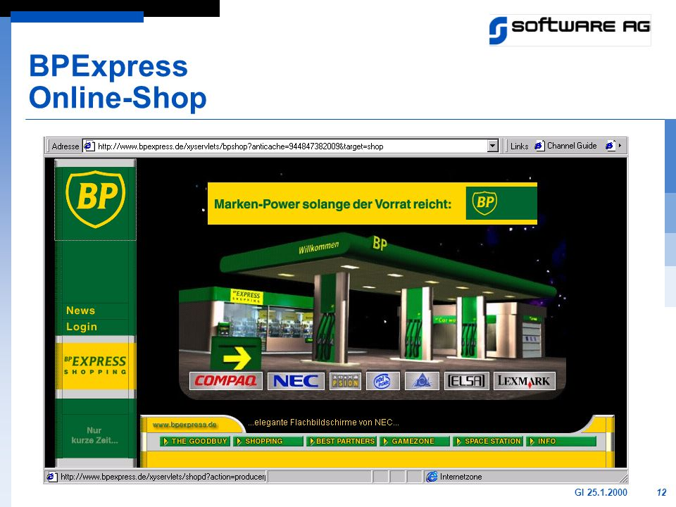 BPExpress Online-Shop