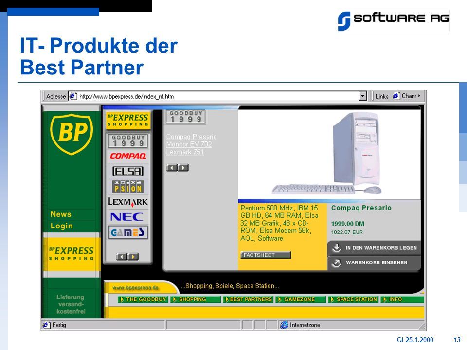IT- Produkte der Best Partner