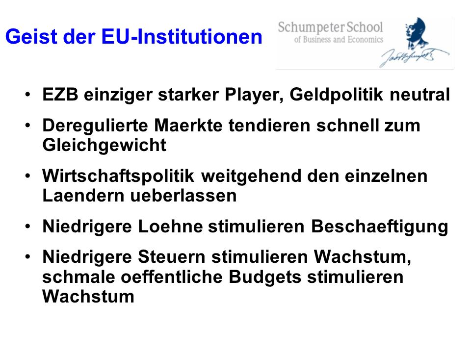 Geist der EU-Institutionen