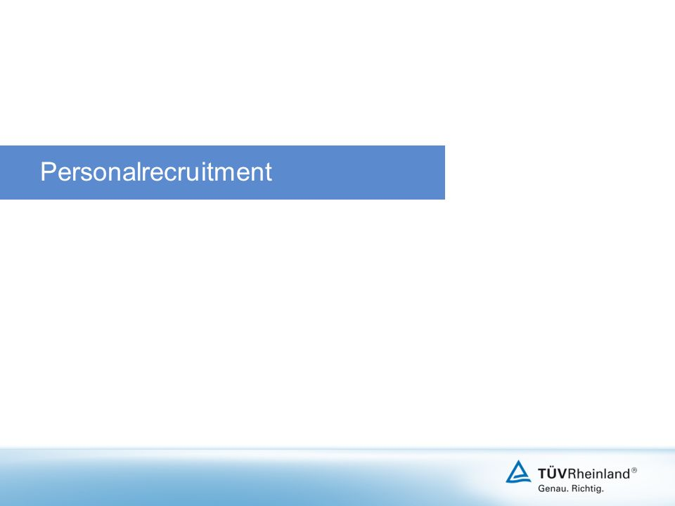 Personalrecruitment