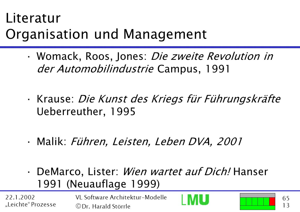 Literatur Organisation und Management
