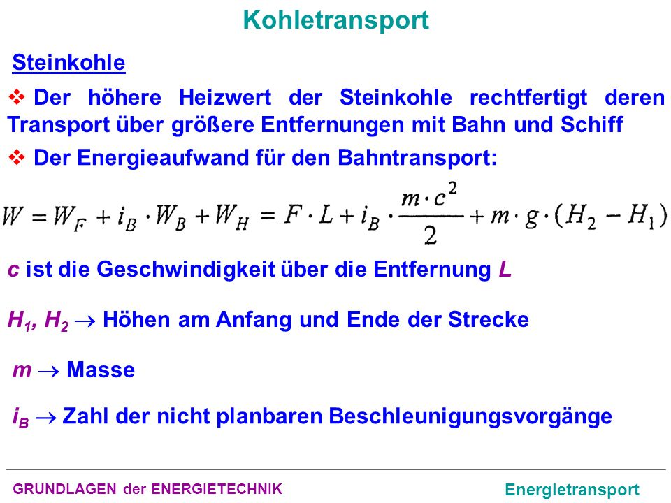 Kohletransport Steinkohle