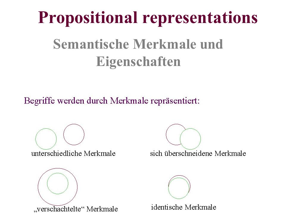 Propositional representations