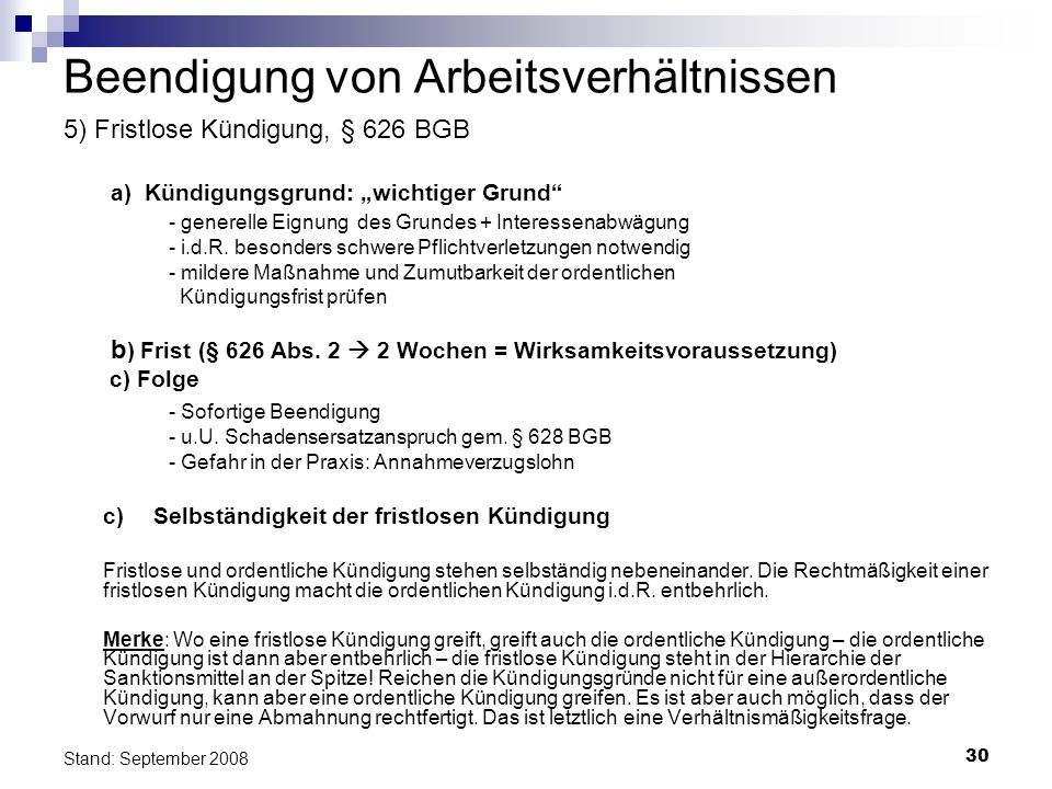 Arbeitsrecht Dr Udo Zimmermann Ppt Herunterladen