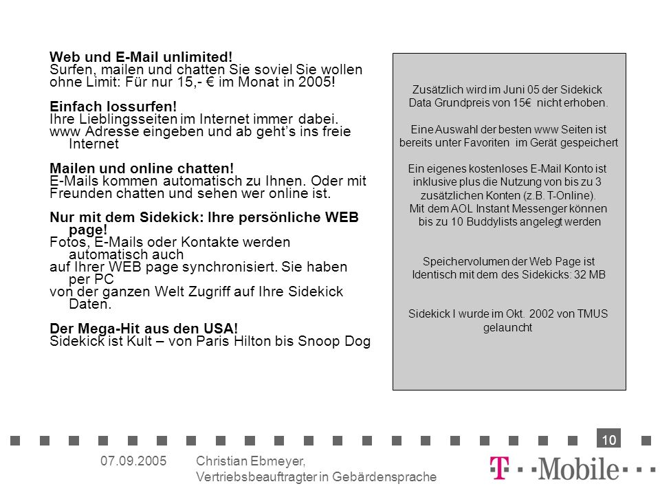 Web und  unlimited!