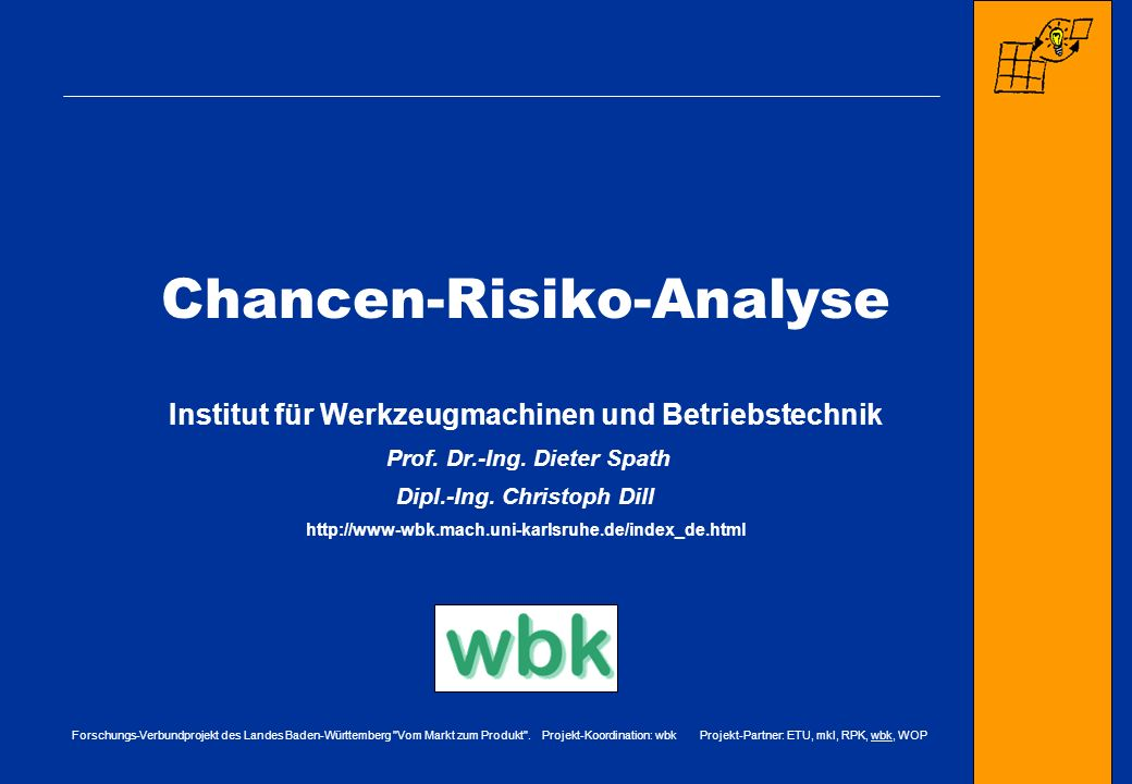 Chancen-Risiko-Analyse