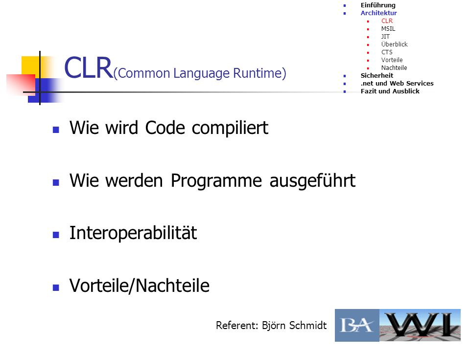 CLR(Common Language Runtime)
