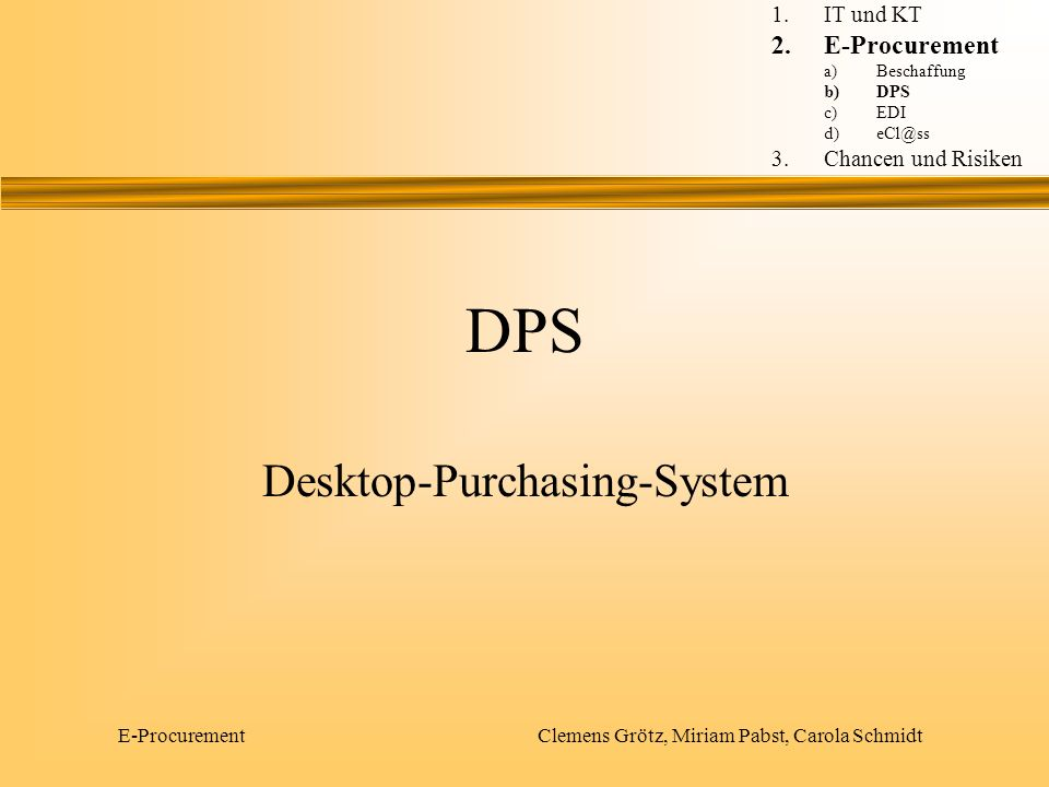 Desktop-Purchasing-System
