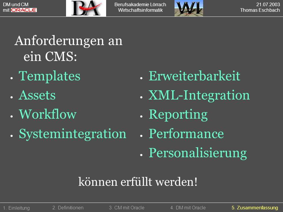 Templates Assets Workflow Systemintegration