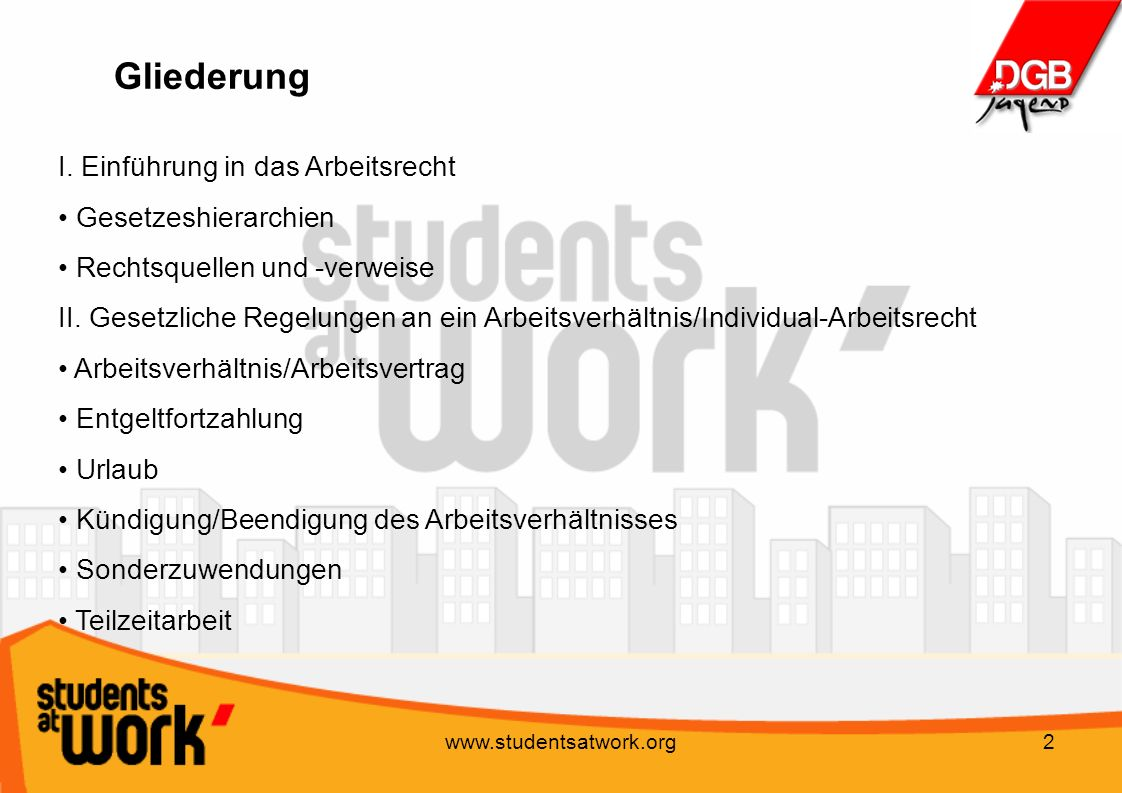 Gew Seminar Studium Und Job Daniel Taprogge Ppt Video Online
