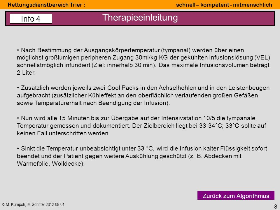 Therapieeinleitung Info 4