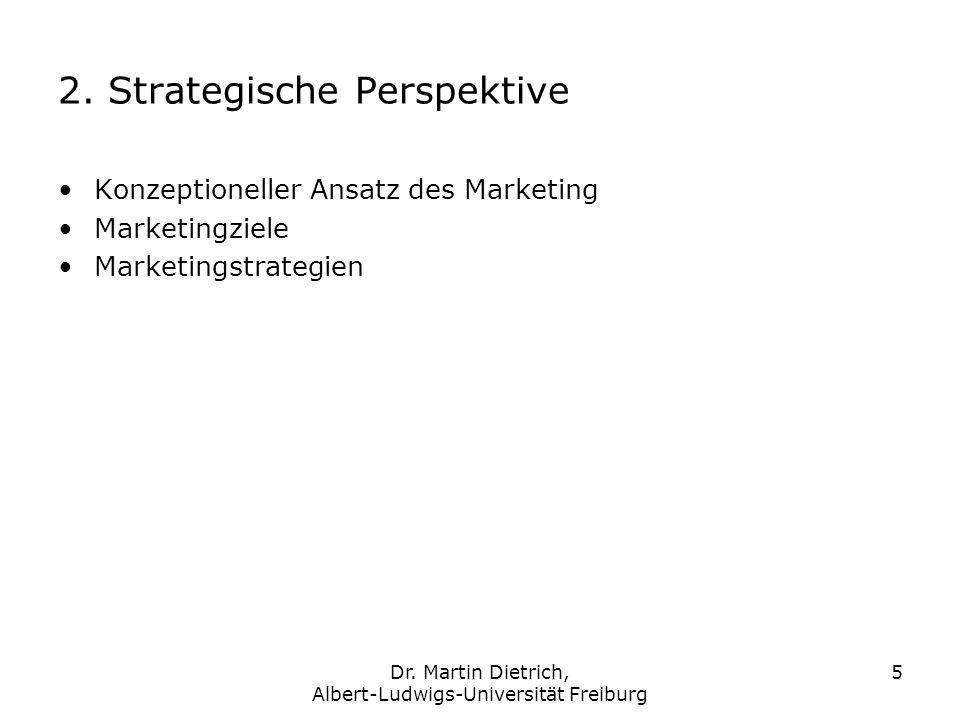 2. Strategische Perspektive