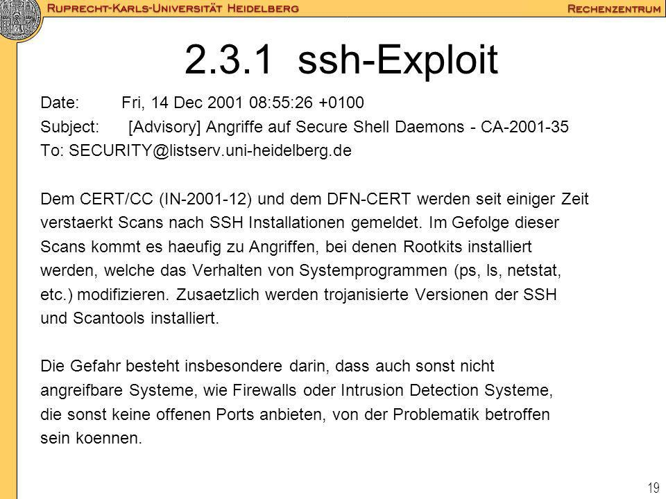 2.3.1 ssh-Exploit Date: Fri, 14 Dec :55: