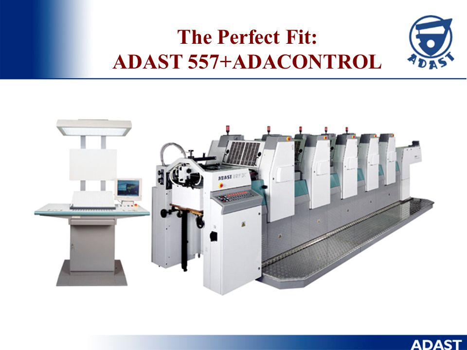 The Perfect Fit: ADAST 557+ADACONTROL