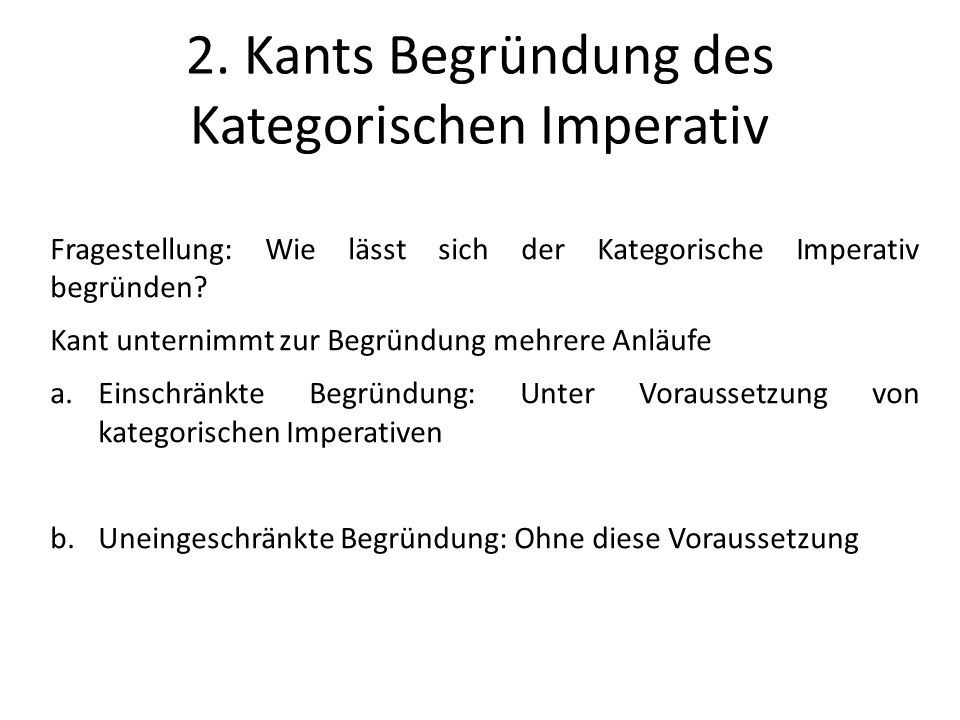 Immanuel Kants Selbstzweckformel Freidenker 3